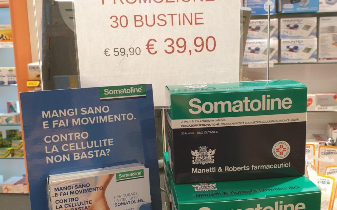 Offerta crema somatoline. Promozione a 39,90